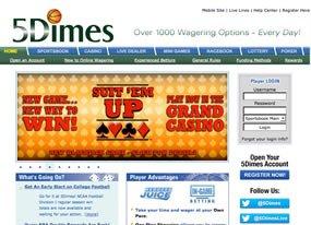 5Dimes Screen