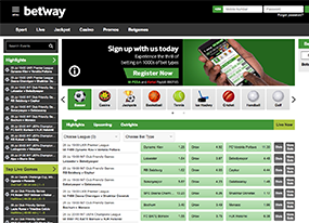 Betway Africa Screen