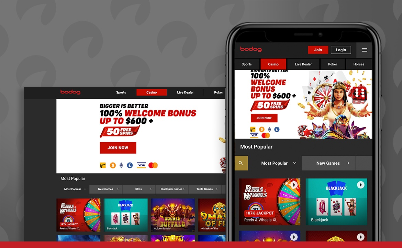 Bodog Casino Screenshot