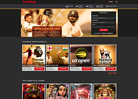 Bodog India Screenshot