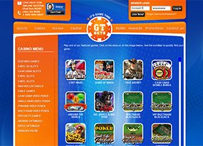 GTBets Casino Screen