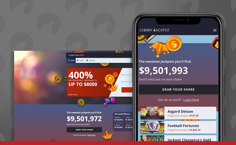 Cherry Jackpot Casino Screenshot