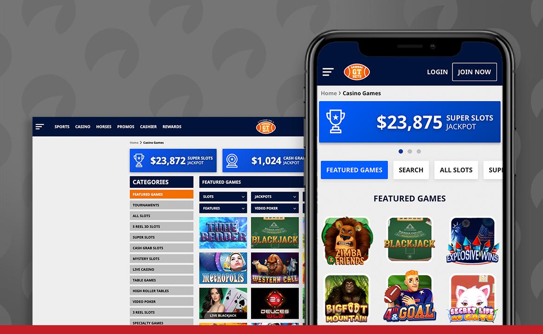 GTbets Casino Screenshot