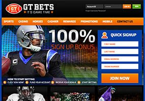 GT Bets Screen