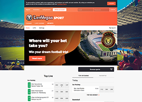 LeoVegas Screenshot