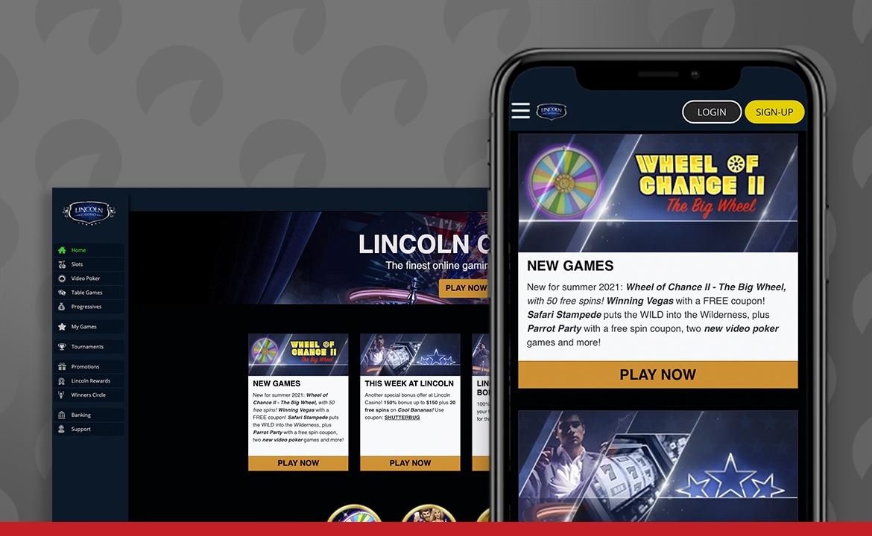 Lincoln Casino Screenshot