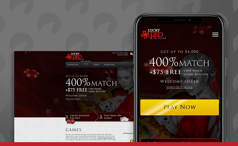 Lucky Red Casino Screenshot