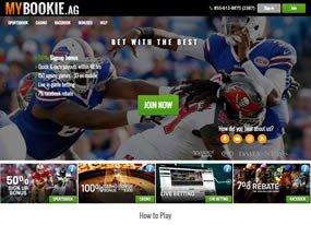 MyBookie Screen