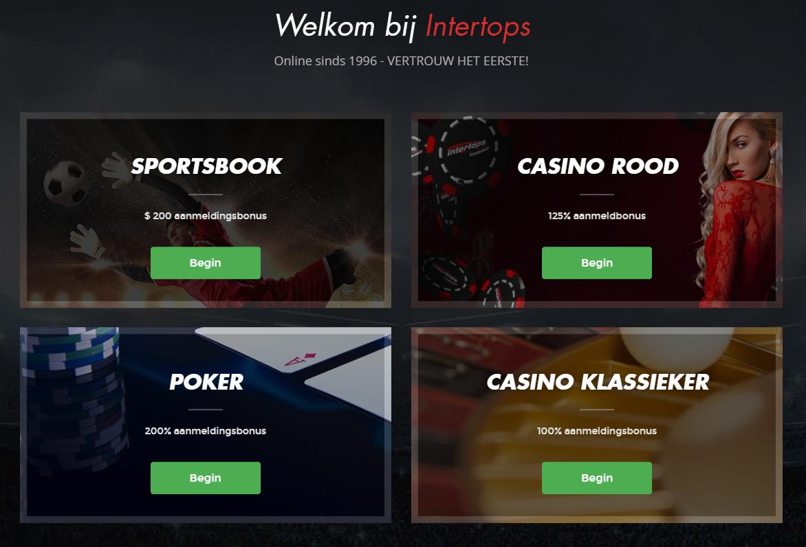 Intertops Nederlands