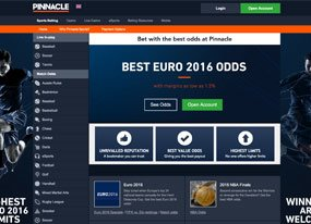 Pinnacle Sports Screen