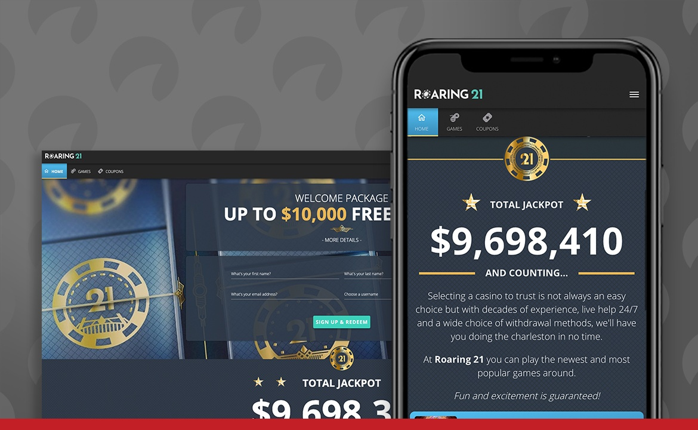 Roaring 21 Casino Screenshot
