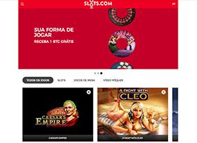 Slots.com Screen