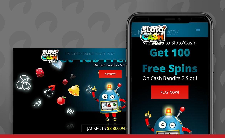 Sloto Cash Casino Screenshot