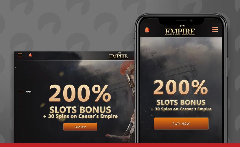 Slots Empire Casino Screenshot