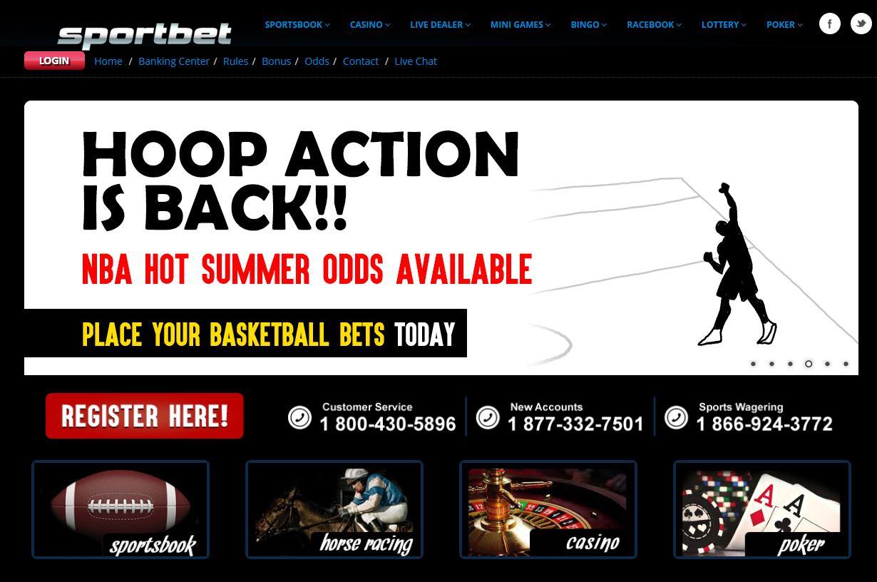 SportBet screenshots