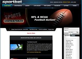 Sport Bet Screen