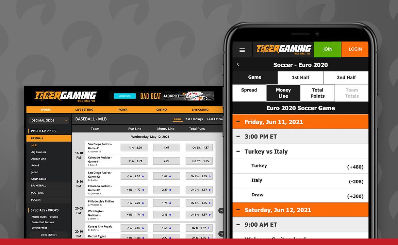 Tiger Gaming Captura de pantalla