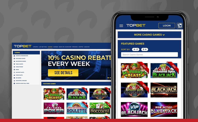 TopBet Casino Screenshot