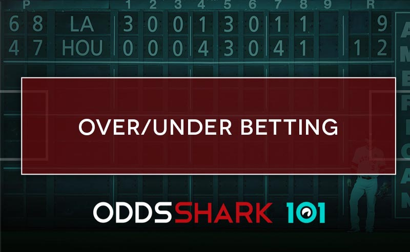 What does the over and under mean in betting betting lines explained mlb trade