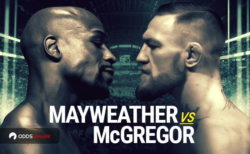 Where to bet on mayweather vs mcgregor sports betting star facebook friends