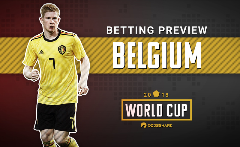 0ba6ace493e 2018 World Cup: Belgium Team Betting Preview | Odds Shark