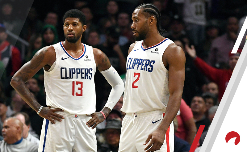 2019 20 Nba Championship Odds Clippers And Lakers Running