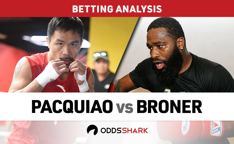 Pacquiao vs Broner Betting Odds