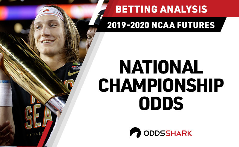 8423fed63 College Football National Championship 2020 Odds
