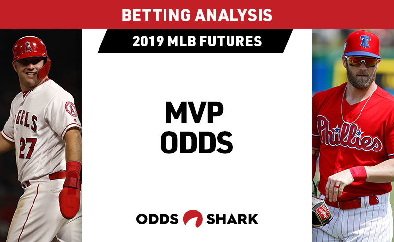 5295b3c25d8 Odds have been released for the 2019 American League and National League  MVP awards
