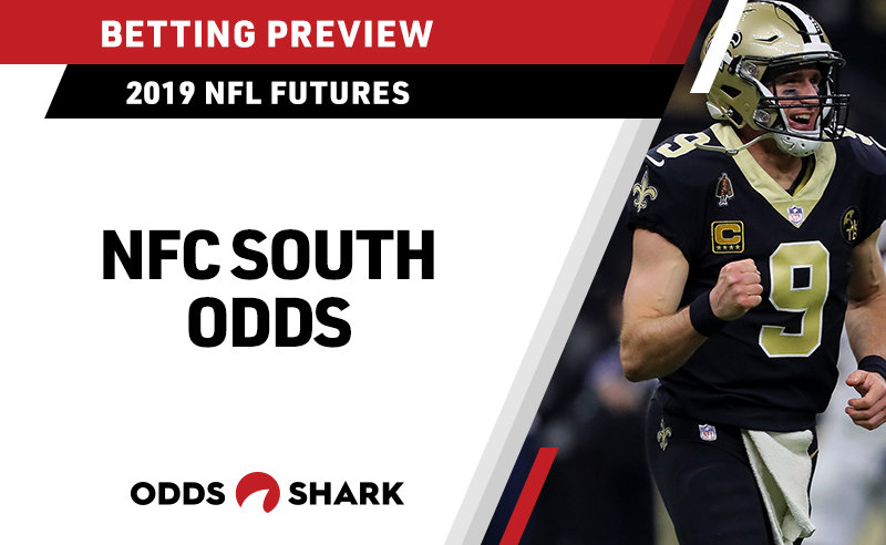 Odds to win the 2019 NFC South Division title
