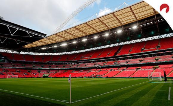 Uno de los estadios de fútbol que acogerá partidos de la próxima Euro 2020
