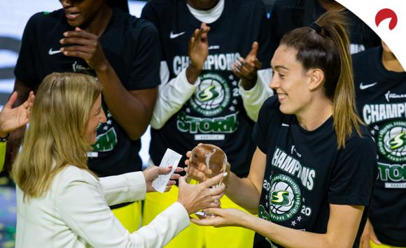 Breanna Stewart and the Seattle Storm are favored for 2021 WNBA Championship odds.