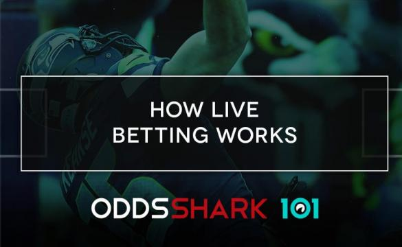 Thumbnail image of How Live Betting Works with Odds Shark 101 text