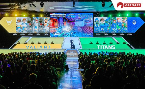 The Los Angeles Valiant and Vancouver Titans play in the Overwatch League