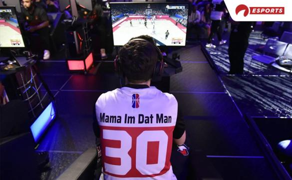 Mama Im Dat Man playing in the NBA 2K League