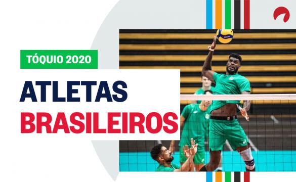 Atletas brasileiros em busca da querida medalha de ouro!