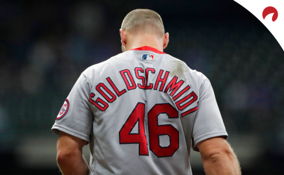 Paul Goldschmidt is the feature of our mlb prop bets today