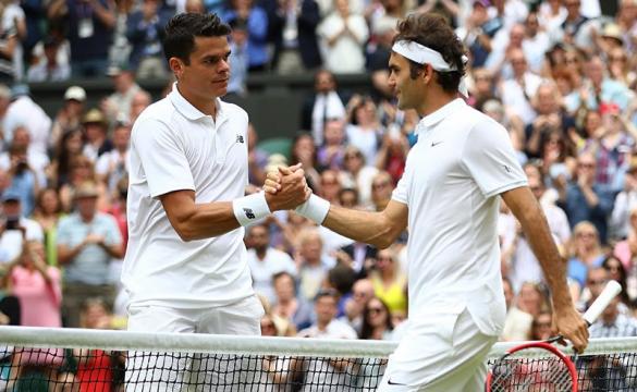 Federer vs Raonic Odds