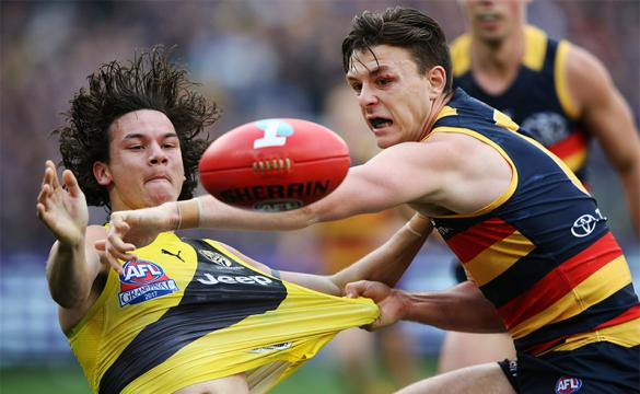 Daniel Rioli Tigers Jake Lever Crows AFL