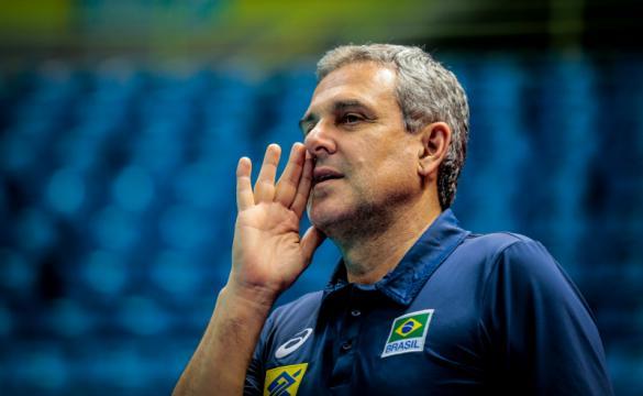 José Roberto Guimarães, técnico da Seleção Feminina de Vôlei