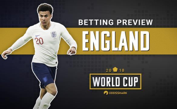England Dele Alli FIFA World Cup 2018 Russia