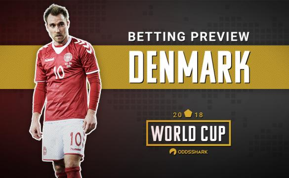 Denmark Betting Odds FIFA World Cup 2018 Russia