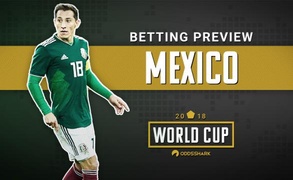 Mexico Betting Odds FIFA World Cup 2018 Russia