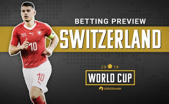 Switzerland Betting Odds FIFA World Cup 2018 Russia
