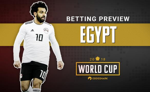 Egypt Betting Odds 2018 FIFA World Cup Russia