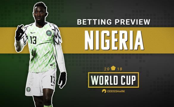 Nigeria Betting Odds 2018 FIFA World Cup Russia