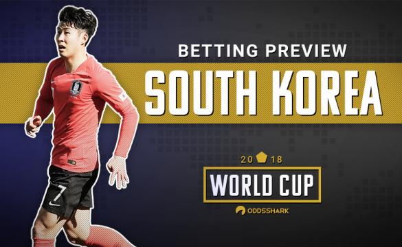 South Korea Betting Odds 2018 FIFA World Cup Russia