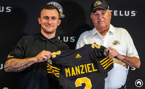 Johnny Manziel Hamilton Tiger-Cats