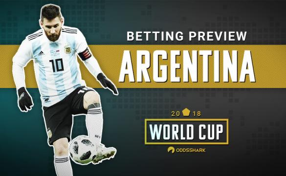 Breakdown on Argentina for 2018 FIFA World Cup Odds