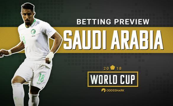 Saudi Arabia Betting Odds 2018 FIFA World Cup Russia